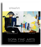 Sopa Fine Arts - exhibit - Constance Bachmann and Peter F. Gross