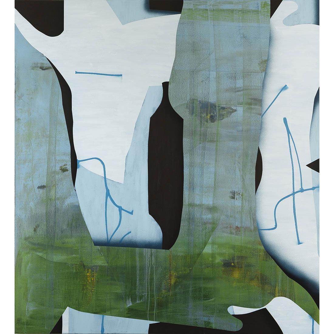 Scott Bertram - 20-11 - 70 in x 64 - acrylic on canvas