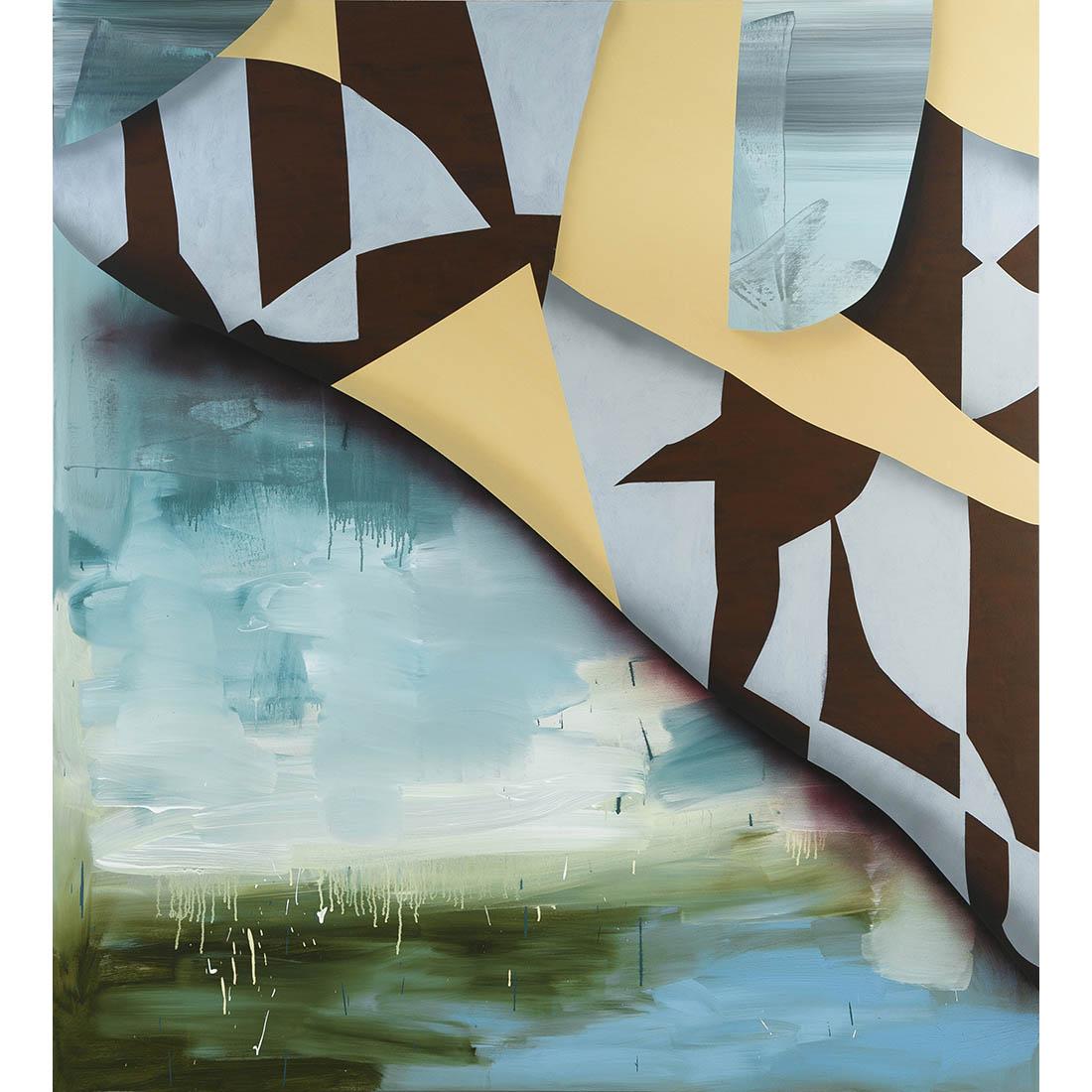 Scott Bertram - 20-14 - 84 in x 76 - acrylic on canvas