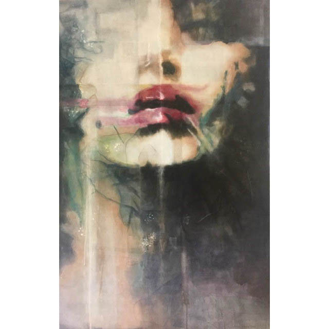 Diana Creasy - Funk - Budapest - 66 in. x 42 - acrylic on canvas