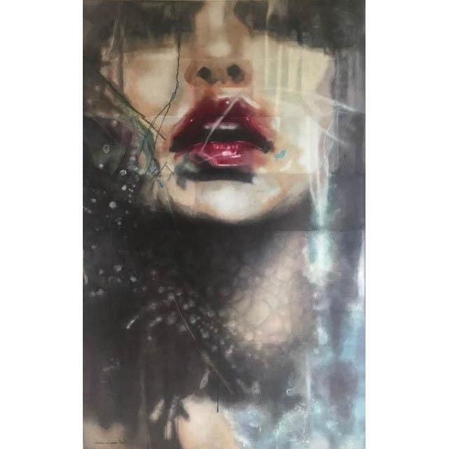 Marrakesh  - 66 in. x 42  - acrylic on canvas