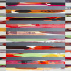 Venetian Blind 3 - 70 x 28 - acrylic on canvas/panel