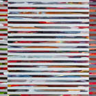 Venetian Blind 4 - 70 in. x 28 - acrylic on board