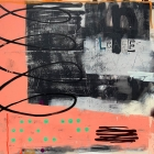 Please Touch - 59 x 59 in. - mixed media on canvas
