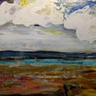 To the Water 40 in x 72 acrylic on canvas