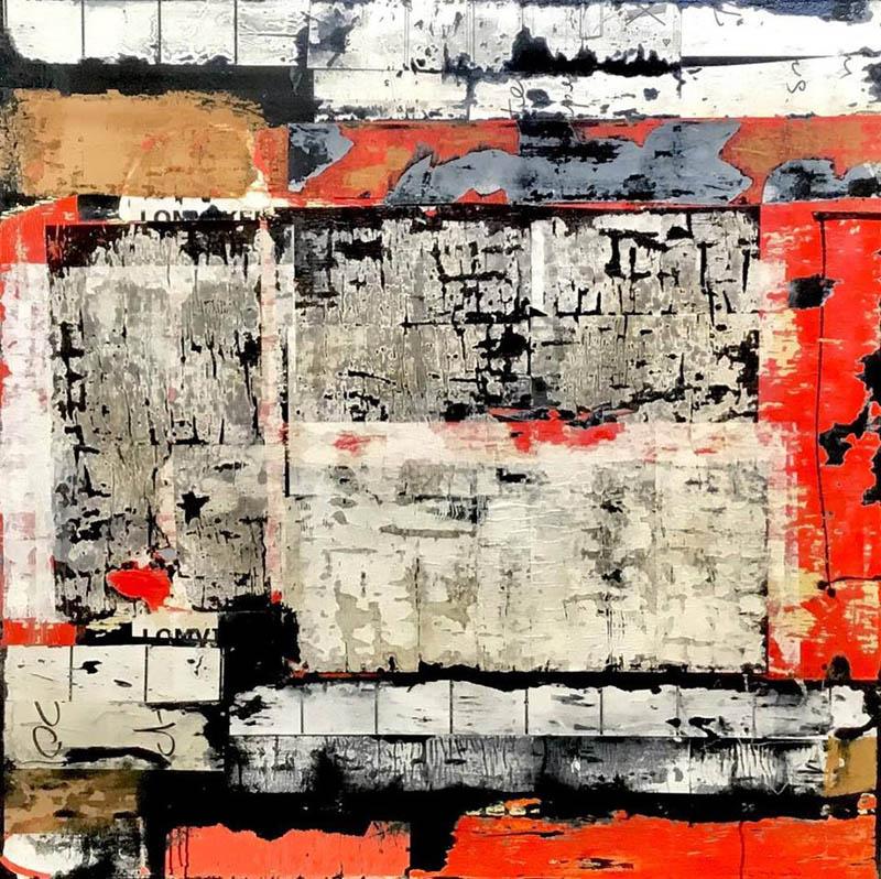 Michael Shemchuk - chroma - 47 x 47 - acrylic on wood panel