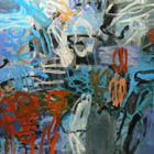 Stormwatch - 48 in. x 54 - oil on canvas