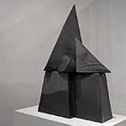 Theorem IV - 45 in. x 26 - kiln fired ceramic