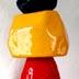 "Helder Batista - Monolith red, yellow & Blue - 25"" tall - resin"
