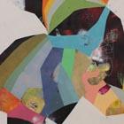 untitled - 30 x 40 - acrylic / mixed media on canvas