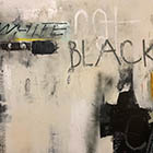 Black Cat - 48 in. x 36 - mixed media on canvas