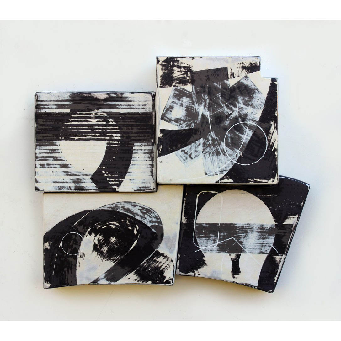 Richard Taylor - Sylvania-6 - 16 in x x 4.5 - mixed media on shaped steel panels